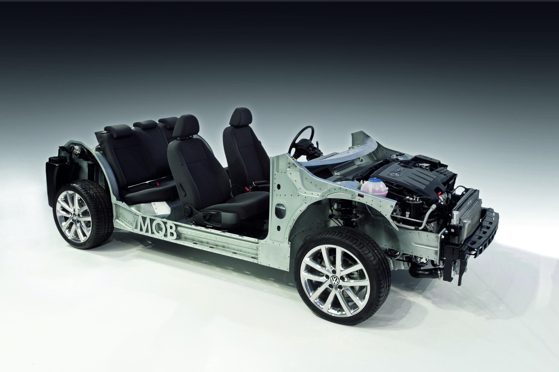 MQB  der neue Modulare Querbaukasten und neue Motoren